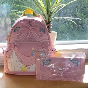 Loungefly Cinderella Mini Backpack & Wallet Set
